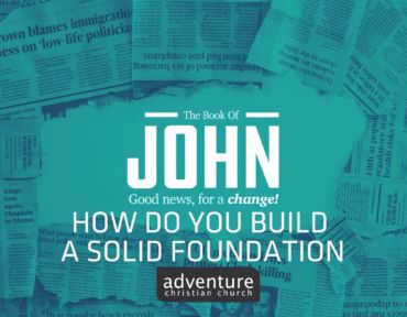 How Do You Build A Solid Foundation?