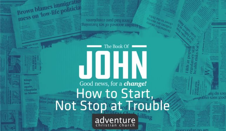 How to Start, Not Stop at Trouble
