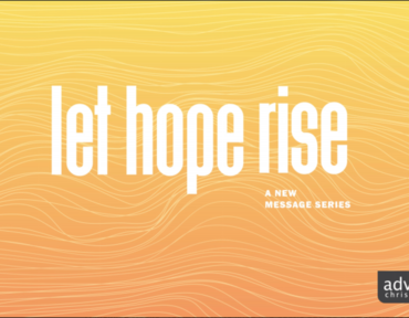 Let Hope Rise: Refuse to go it Alone