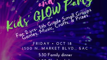 Parents' Movie Night and Kids' Glow Party